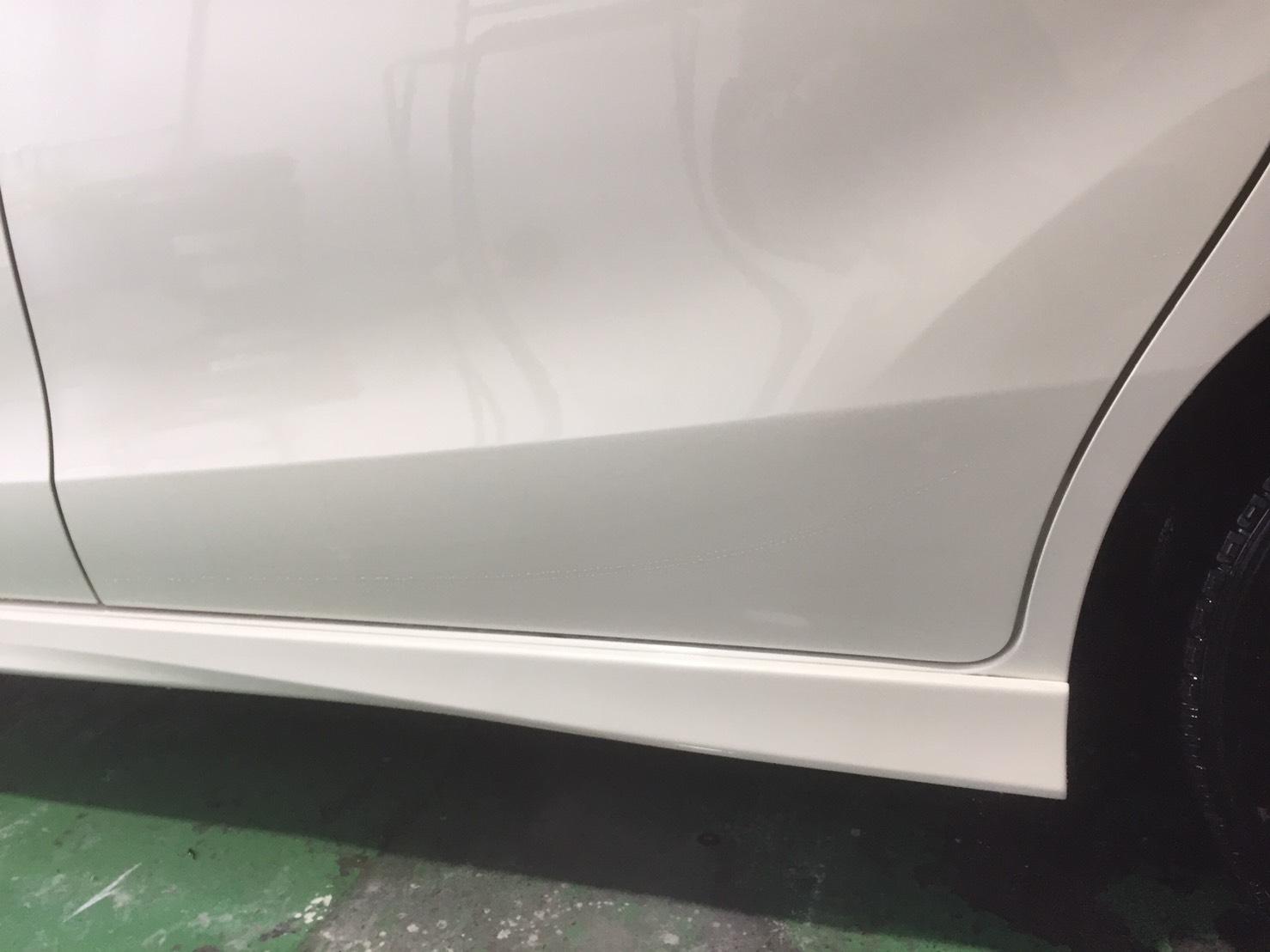 18年式  ステップワゴン 宇治市  男性 左スライドドア 左ステップ修理
